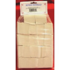 """OX YOKE GI CLEANING PATCH, 2-1/2"""", 1,000 COUNT"""