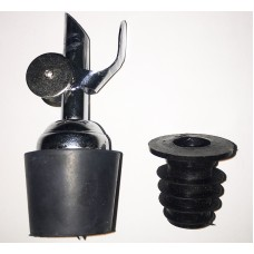 AUTO CLOSE POWDER SPOUT WITH ADAPTER