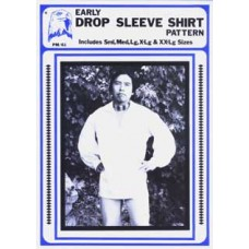 EARLY DROP SLEEVE SHIRT PATTERN