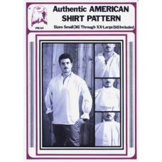 AUTHENTIC AMERICAN SHIRT PATTERN
