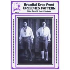 BROADFALL DROP FRONT BREECHES PATTERN