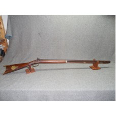 ORIGINAL ANTIQUE JACOB KLINE 35 CALIBER OHIO HALF STOCK RIFLE